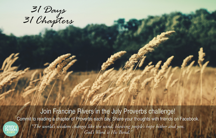 July Proverbs Challenge