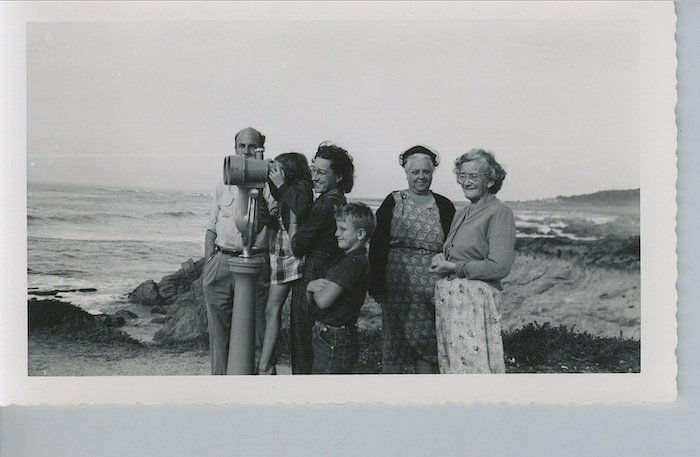 A family vacation with both grandmothers